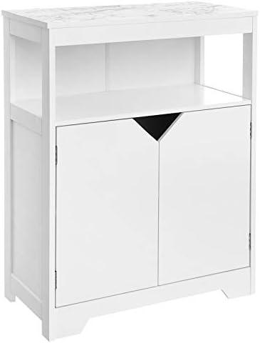 picture of VASAGLE Bathroom Storage Cabinet, Floor Cabinet Cupboard, - Large Storage