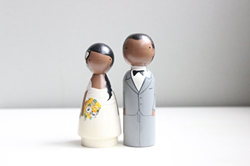 Wedding Cake Toppers Custom Wedding Cake Toppers Personalized Dolls