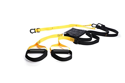 Sea area sports Bodyweight Resistance Straps Kit with Training Straps for Door, Anchor Point & Exercise Guide.Complete Full Body Workouts with Home,Travel,Outdoors and Professional Gyms workouts by Sea area sports
