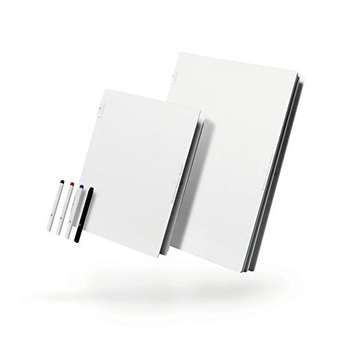 ButterflyBoard2 A4 (8.5 x 11.75 inch) Whiteboard Notebook Butterfly Dry Erase Board