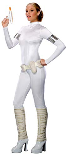 Secret Wishes Star Wars Sexy Padme Amidala Costume, White, X-Small
