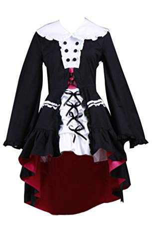 Mtxc Women's The Melancholy of Suzumiya Haruhi Cosplay Yuki Nagato Lolita Costume