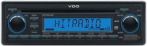 Vdo Cd726u Bu 24 Volt Cd Mp3 Autoradio Mit Usb Elektronik