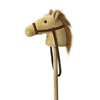 "Aurora - Giddy-Up Ponies - 37"" Beige Giddy Up Pony"