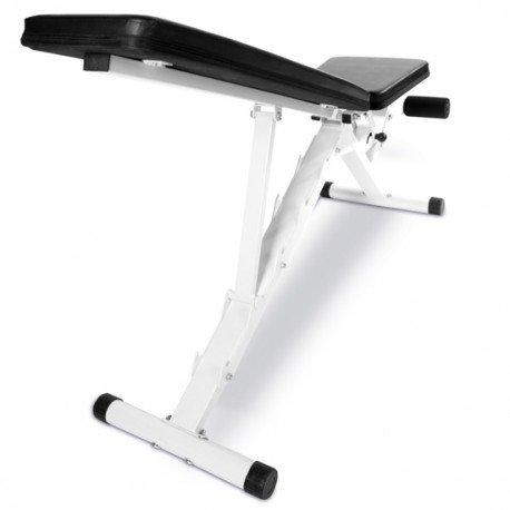 Compradetodobarato - Banco reclinable + soporte con 12 niveles + barra z 30kg: Amazon.es: Deportes y aire libre