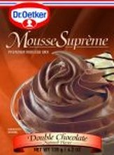 Double Chocolate Mousse (Dr. Oetker Double Chocolate Supreme Mousse (12x4.2 OZ))