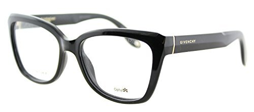 Givenchy GV 0005 D28 Black Plastic Cat-Eye Eyeglasses (D28 Glasses)