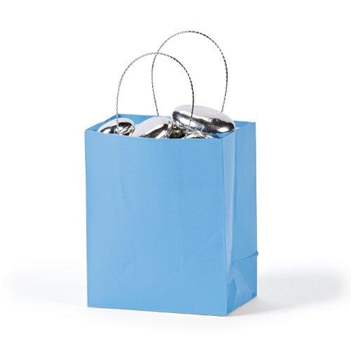 Mini Light Blue Gift Bags