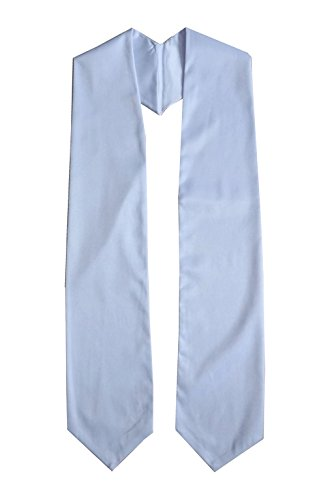 Grad Days Unisex Adult Plain Graduation Stole 60'' Long -