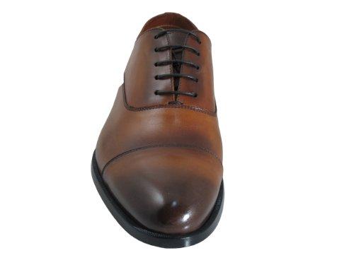 Doucals Italian Hombres 41196 Con Cordones Zapatos De Vestir Marrón Claro