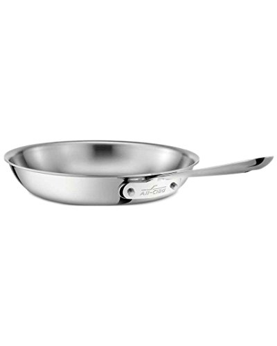 All-Clad-Stainless-Steel-Tri-Ply-Bonded-Dishwasher-Safe-Fry-Pan