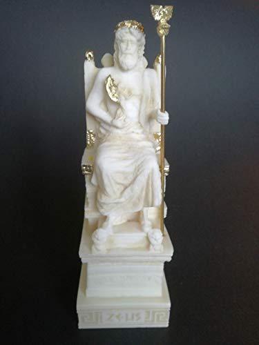 - Zeus Greek Mythology King Of Gods Alabaster Statue