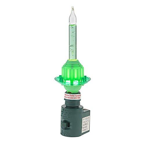 Holiday Splendor Green Bubble Bright Night Light ()