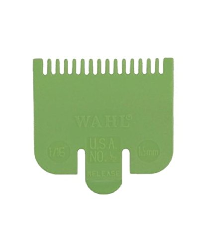 /& Grade 1.5 1.5mm Wahl Clipper Attachment Grade 0.5 by Wahl 4.5mm