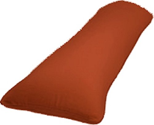 rust-body-pillow-case-cover-for-20-x-54-full-length-body-pillow-solid-color-pillowcase-pregnancy-pil