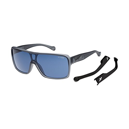 Arnette Tallboy AN4210-03 Shield Sunglasses, Grey, 133 - Sunglasses Amazon Arnette