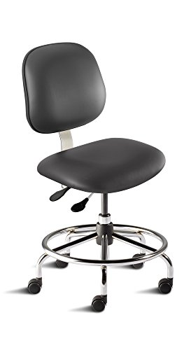BioFit Engineered Products BES-L-RC-C-AV126 Belize Series Desk Height Chair with Steel Base