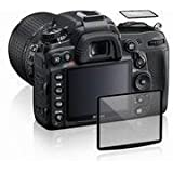 Maxsimafoto® - LCD Screen Glass Protector for Nikon D750 High Transparency, Anti-scrape, Anti Bump. (top screen also included)