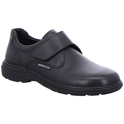 Cuero Hombre Zapatos Delio Mephisto Black Riko d8OwxttHq