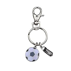 Soccer Keychain, Soccer Gifts, Soccer Zipper Pull, Proud Soccer Player, Team or Coach Gifts