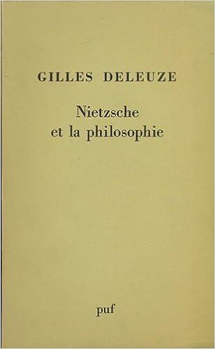 Nietzsche et la philosophie Deleuze