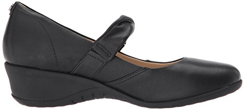 Hush Puppies Womens Jaxine Odell Slip-On Loafer Black l3MTYELA
