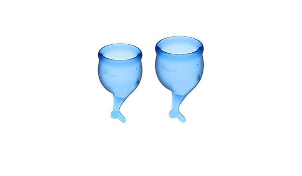 Satisfyer Feel Secure - Menstrual Cup Set, 15 & 20 ml ...