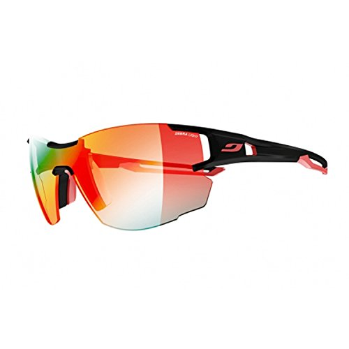Julbo Aerolite Sunglasses (Zebra - Black/Red)