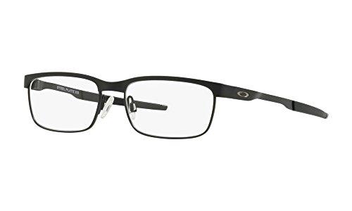 Oakley - Steel Plate XS (46) - Satin Black Frame-Only - For Children Oakley Sunglasses