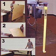 Leg Up Table Saw Panel-Lifter (Panel Saw Accessories)