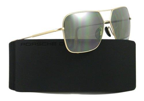 Porsche Design Gafas de sol Para Hombre P8512 - B: Oro claro ...
