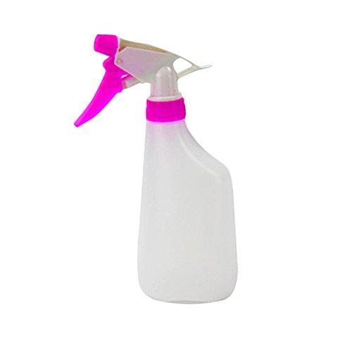 Plastic Spray Bottles,SIN+MON Leak Proof Technology 500ML Portable Flower Plant Hand Trigger Watering Pot Kitchen Bath Beauty Hair Durable Sprayer -