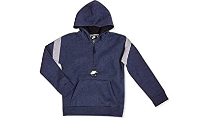 Nike B NK Air HZ PO Sudadera, Niños, Azul (obsidianheather/dk Grey
