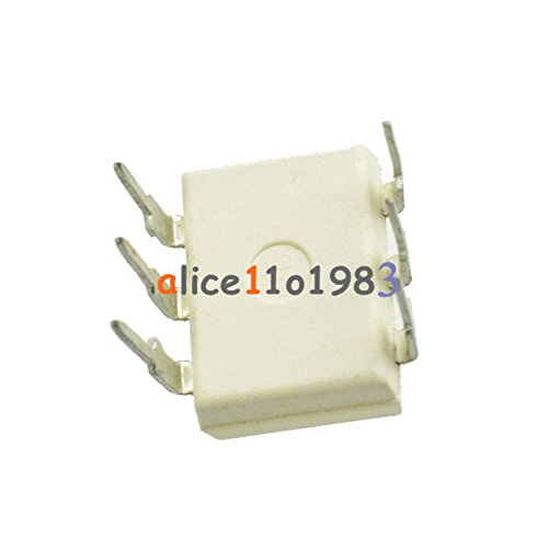 5PCS 4n35 DIP6 FSC Optocouplers Phototransistor 30V IC NEW