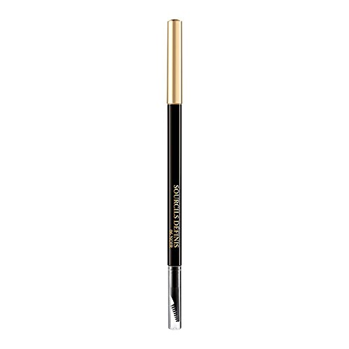 Lancome Sourcils Définis Eyebrow pencil With Brush Color 06 Noir 0,003 oz