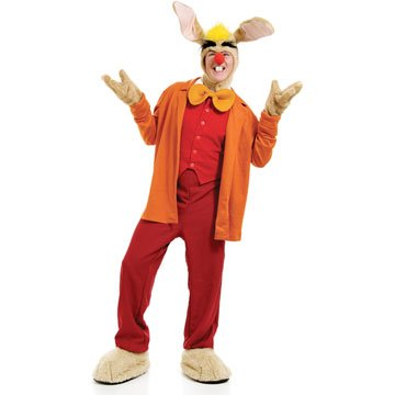 March Hare Costume Male (March Hare Adult Costume)