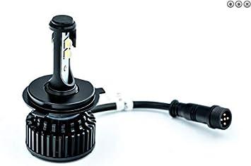 Cíclope - Conversor de bombilla LED H4 ventilador de refrigeración: Amazon.es: Coche y moto
