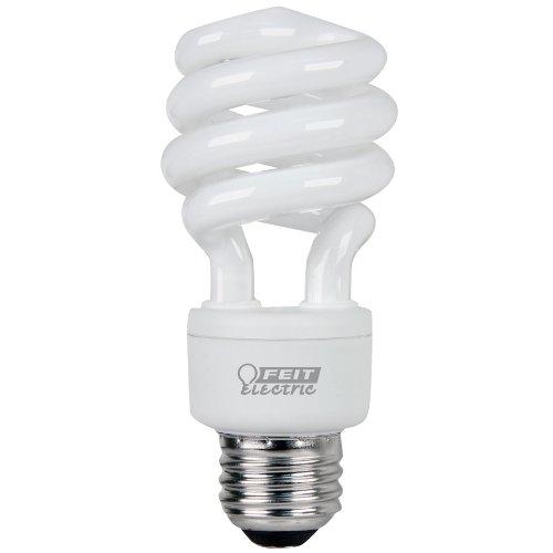 Feit Electric ESL13T/D 13-Watt Compact Fluorescent Mini Twist Bulb (60-Watt Incandescent Equivalent), Daylight