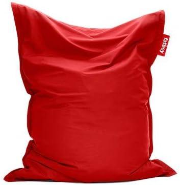 Fatboy Original Outdoor Sitzsack Red Klassische Beanbag Für Draußen Sitzkissen In Rot 180 X 140 Cm