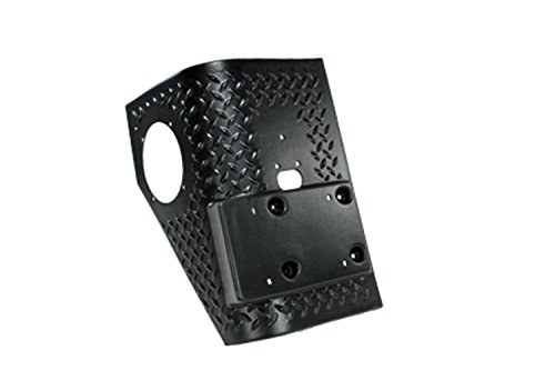 Rugged Ridge 11650.01 Black Diamond Plate Rear Tall Corner - Pair
