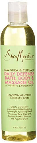 Raw Shea & Cupuacu Daily Defense Bath-Body & Massage Oil by Shea Moisture...