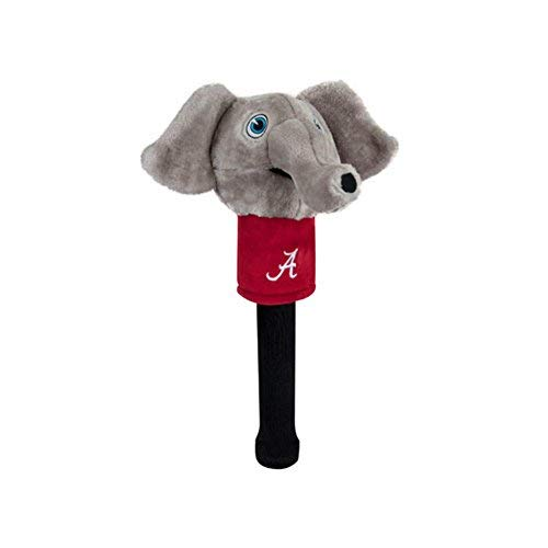 Team Golf NCAA Alabama Crimson Tide Mascot Golf Club Headcover, Fits Most Oversized Drivers, Extra Long Sock for Shaft Protection, Officially Licensed -