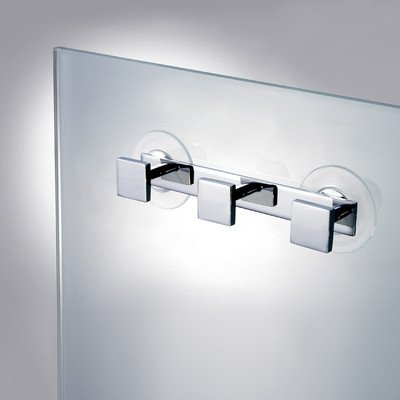 (Stand Mirrors Wall Mounted Bathroom Hook Finish: Chrome)
