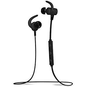 BlueAnt PUMP MINI Black BT4.1 Sweatproof/Wireless Sports/Fitness Bluetooth Earbuds w/mic iPhone6+,6,Apple Watch,Android,6hrs