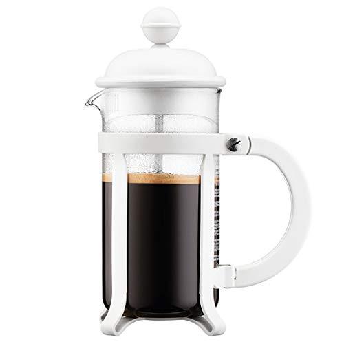 HYJBGGH Cafeteras de émbolo French Press Coffee Maker, Prensa Francesa, Sistema De Filtración De 3 Niveles, Vidrio De…