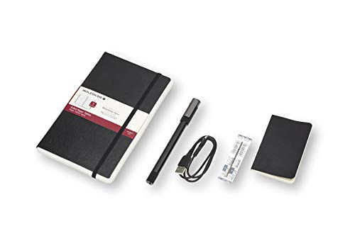 Moleskine Pen+ Ellipse Smart Writing Set Pen & Ruled Smart Notebook - Use with Moleskine Notes App for Digitally Storing Notes (Only Compatible with Moleskine Smart Notebooks) by Moleskine (Image #3)