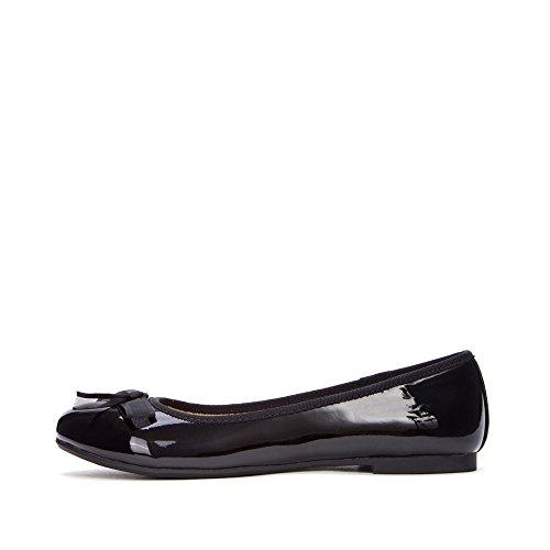 34 carina nastro profonde DHG a bianche primavera piatte Nero scarpe signora dolce bellezza scarpe scarpe rotonda punta Scarpe xTUTw8HA