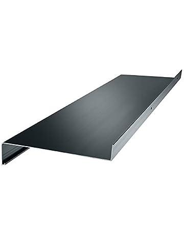 Lignodur Topline LD36 Innenfensterbank beton hellgrau 300 mm Ausladung inkl 500mm Seitenabschl/üsse Fensterbank
