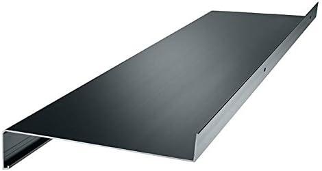 anthrazit Aluminium Fensterbank Zuschnitt auf Ma/ß Fensterbrett Ausladung 240 mm wei/ß dunkelbronze silber