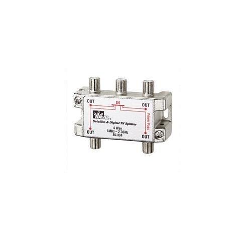 (Ideal 85-334, 2 Ghz Splitter, 4-Way, Pack of 25 pcs)